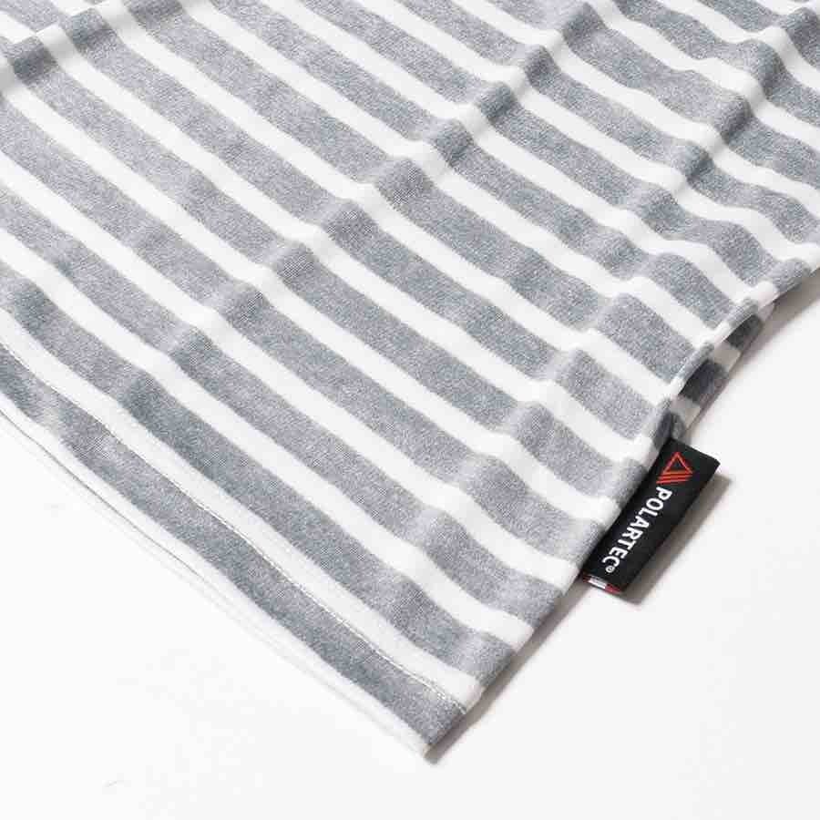 MMA Close Up of Border T Shirt with Polartec tag small