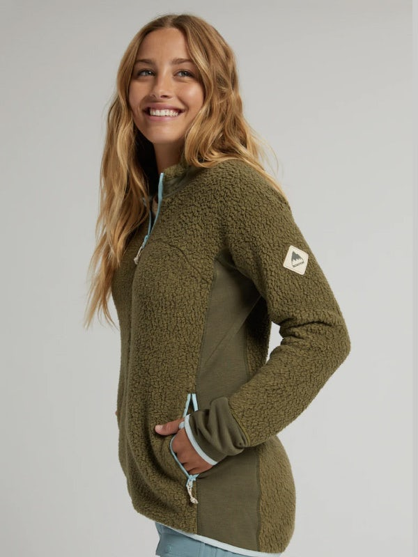 Burton Womens Minturn Full Zip Fleece