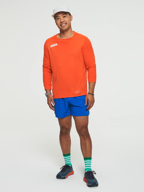 Hoka One One Mens Performance Long Sleeve Shirt