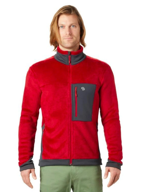 Mountain Hardware Mens Monkey Fleece Jacket
