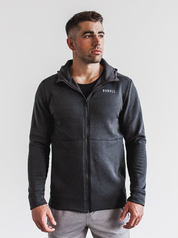 Nobull Mens Performance Zip Up Hoodie