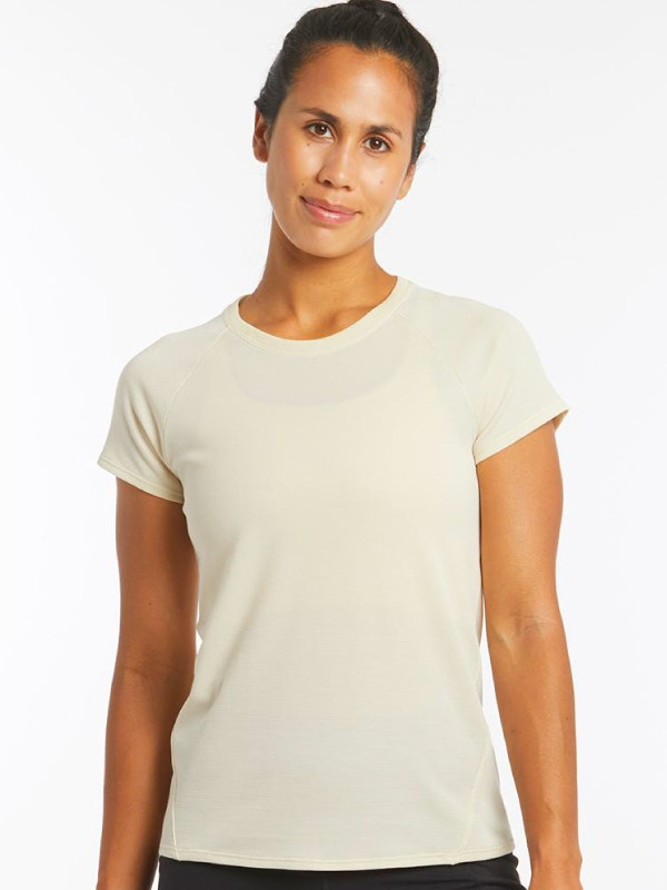 Oiselle Flyout Wool Short Sleeve