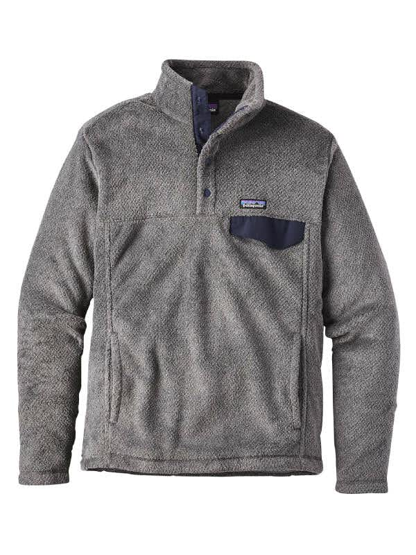 Patagonia Mens Re Tool Snap T Fleece Pullover